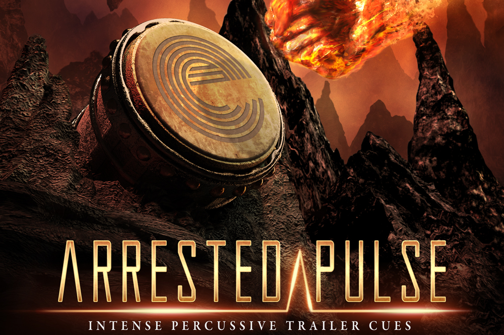 Arrested Pulse Percussive Trailer Music