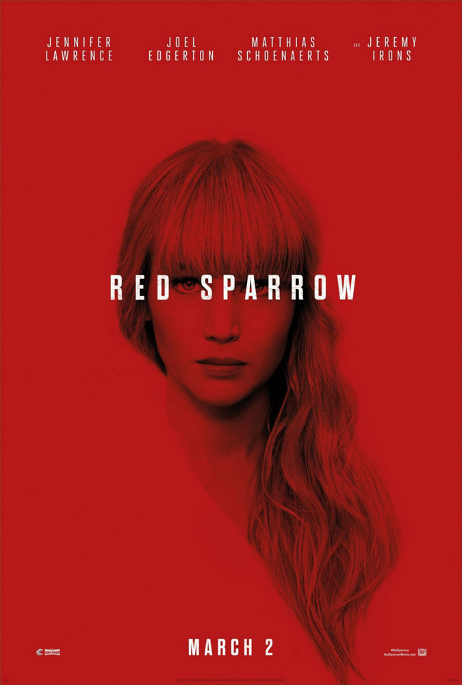Red Sparrow Theatrical Trailer
